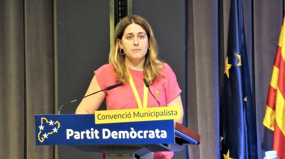 Rogert Torrent, presidente del Parlamento catalán