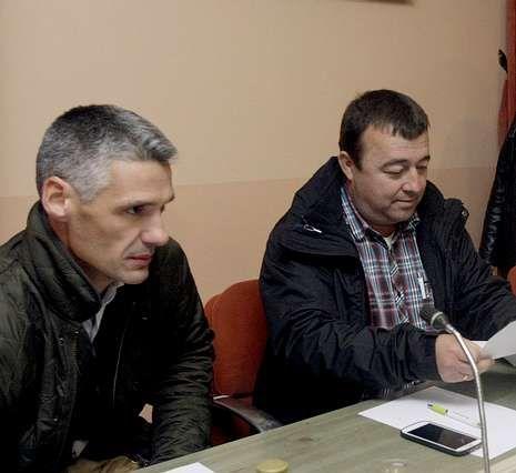 Cospedal y Timoshenko, se reúnen en Dublín.Callón, derecha, es el presidente del comité organizador.