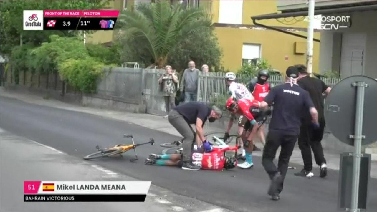 Las imágenes de la última etapa de la Ruta do Albariño de ciclismo