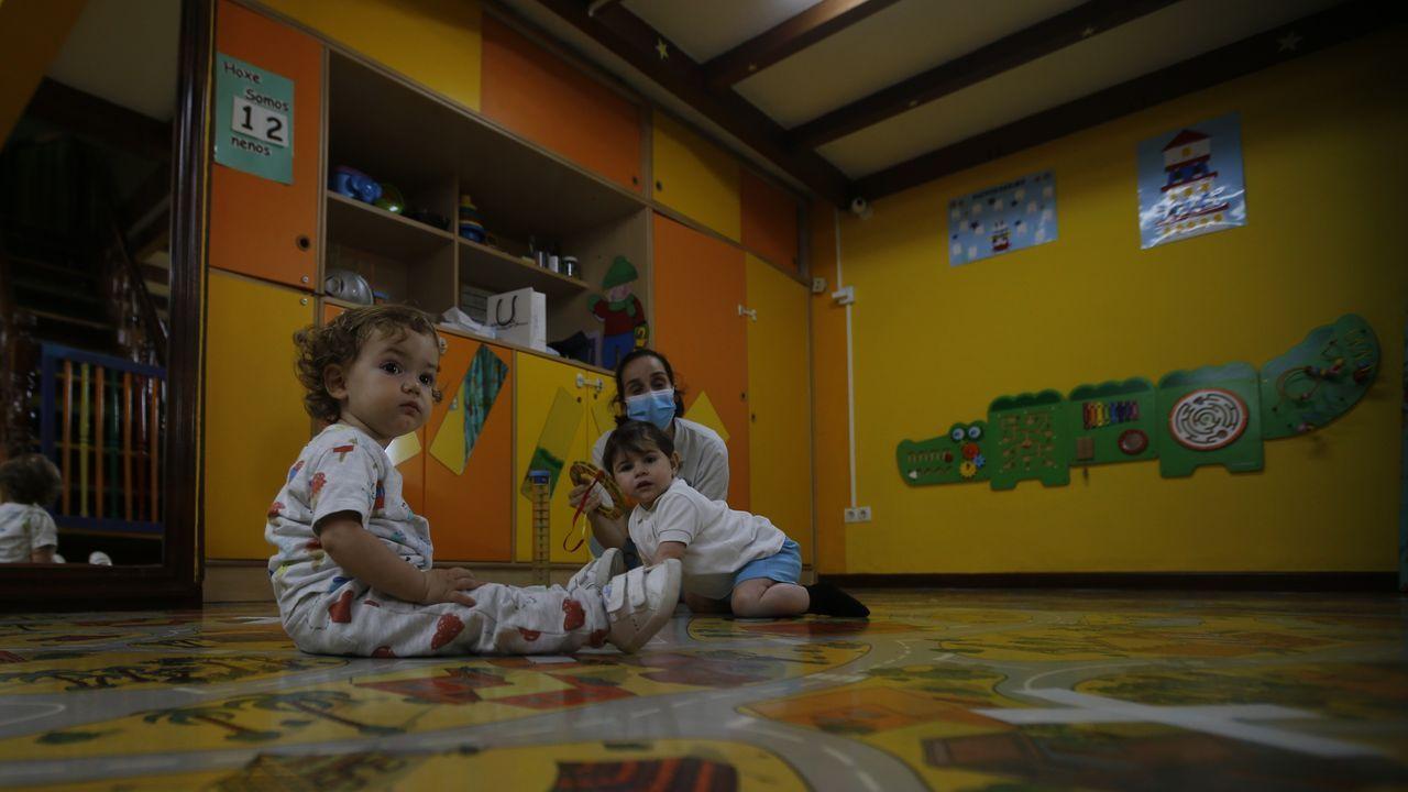 Inicio de curso en la escuela infantil Golfiños de A Coruña
