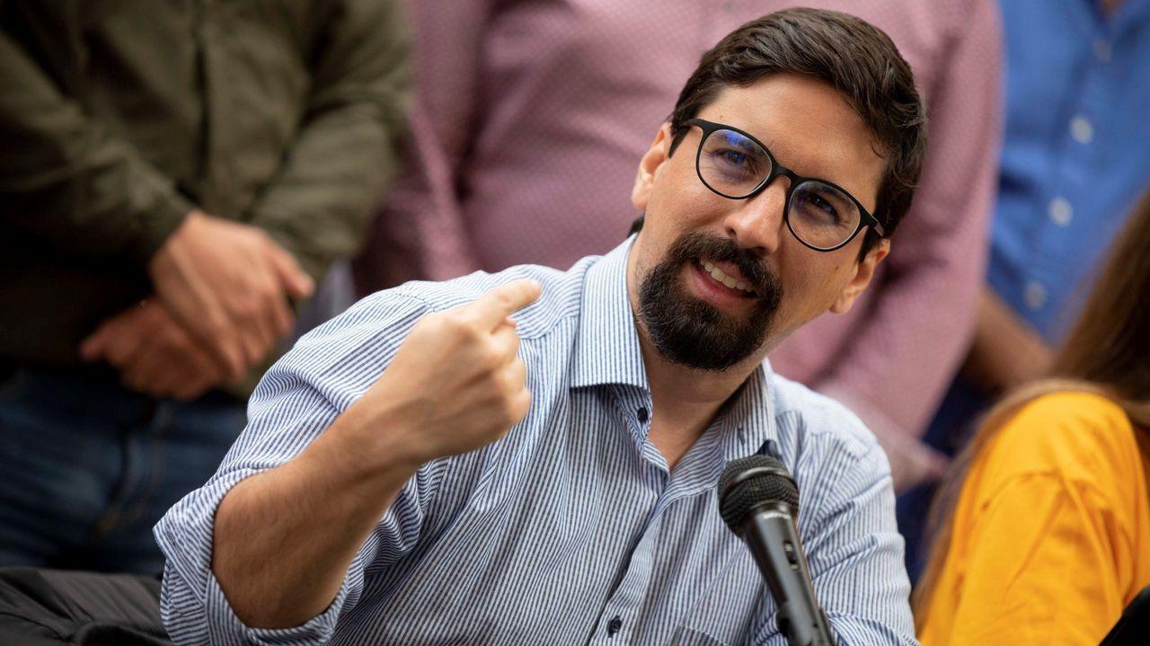El diputado venezolano y dirigente opositor Freddy Guevara, el pasado mayo, en Caracas