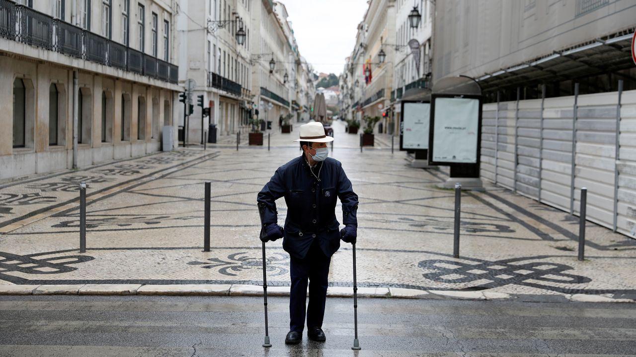 Los casos de contagio han repuntado en Portugal