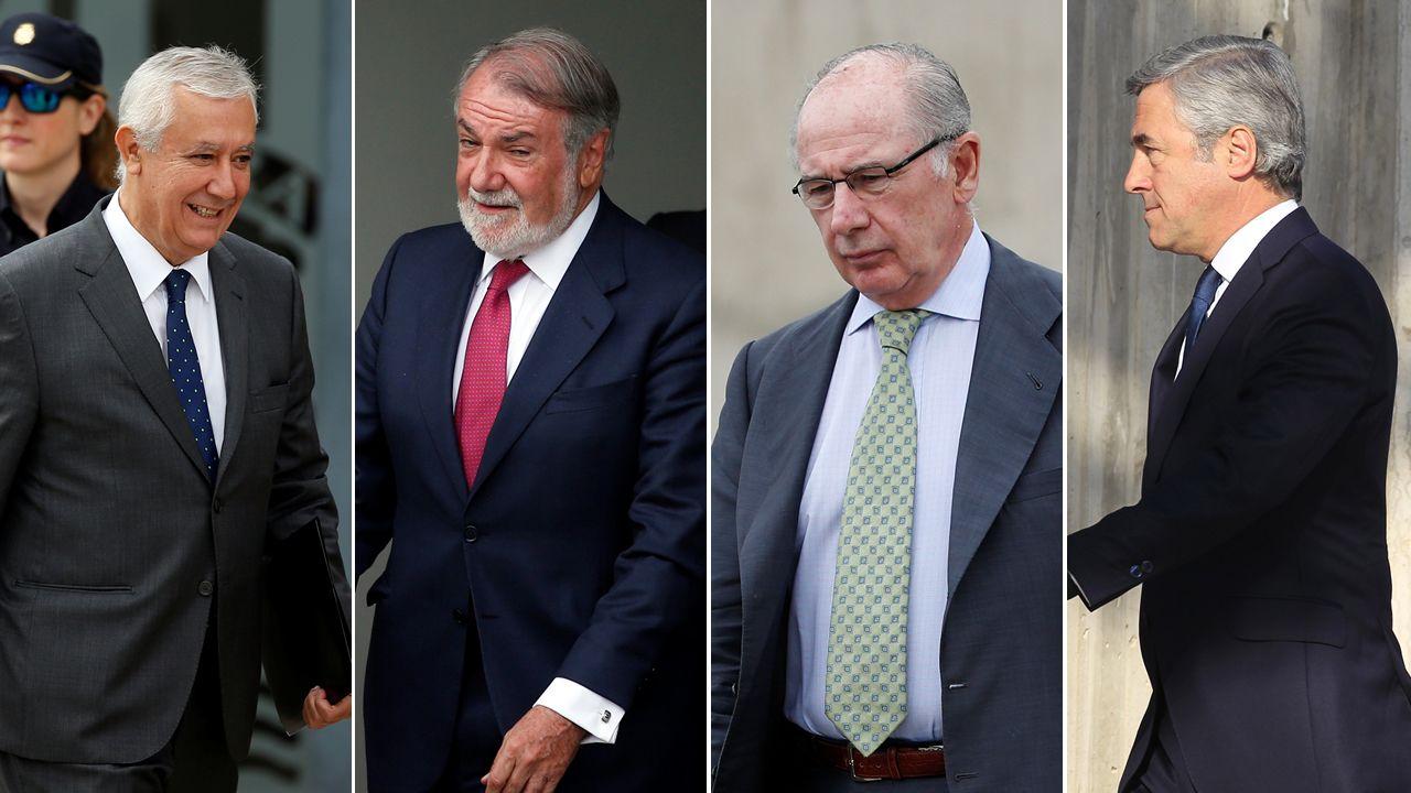 Rajoy: «Jamás me he ocupado de asuntos económicos en el partido».María Luisa Carcedo