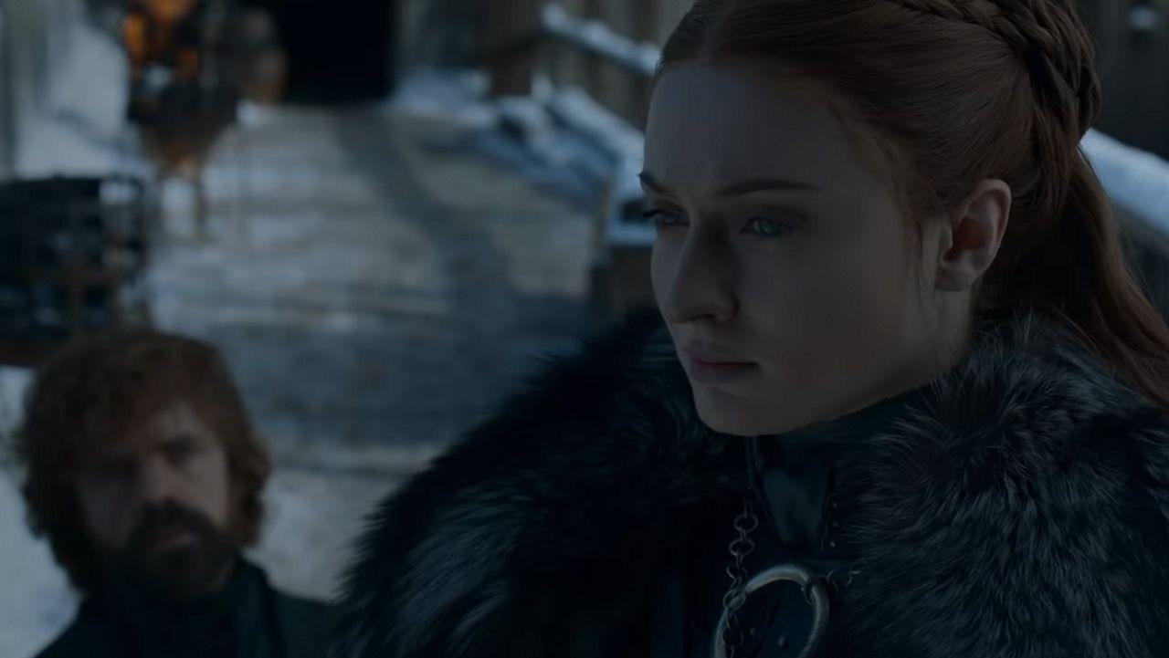 Sansa Stark y Tyrion Lannister