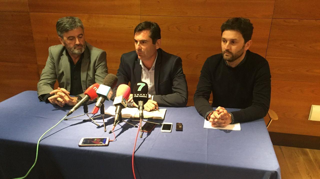 Talan la palmera que quedaba en Ravella.Varela comprométese a traballar por unha distribución xusta de fondos e competencias. mónica irago