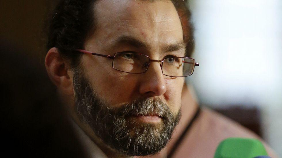El portavoz de Podemos en la Junta General del Principado, Emilio León