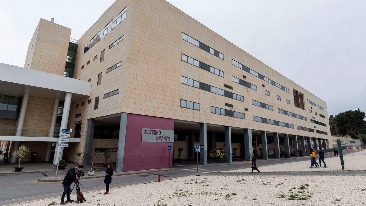 Vista del hospital materno infantil Virgen de la Arrixaca de Murcia