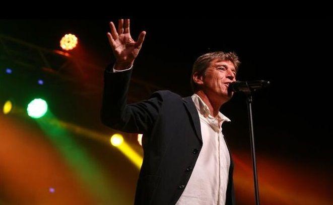 Javier Ojeda, en un concierto