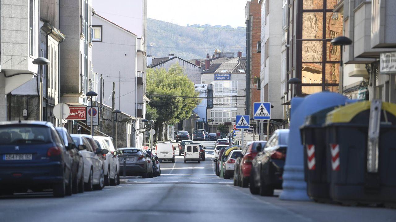 Declaraciones de Feijoo en San Cibrao sobre la ampliación del toque de queda.Adrián Barbón