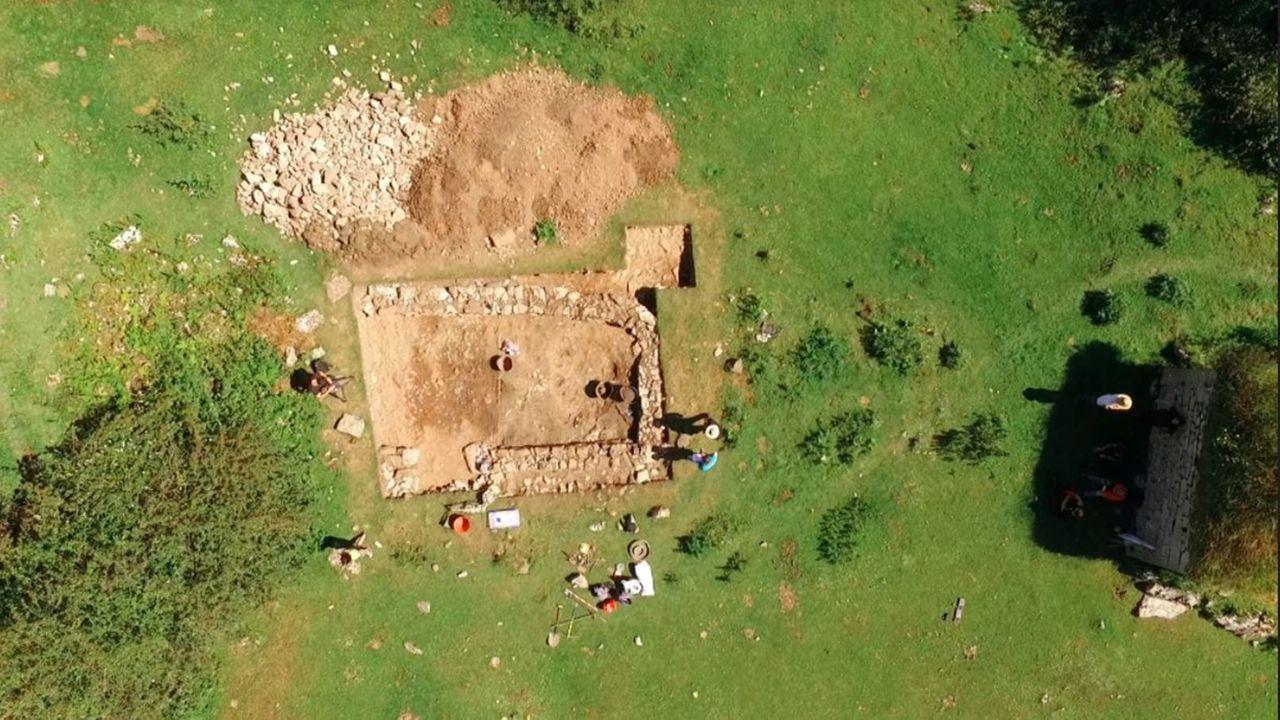Investigación arqueológica de la Universidad de Oviedo en Belmonte de Miranda