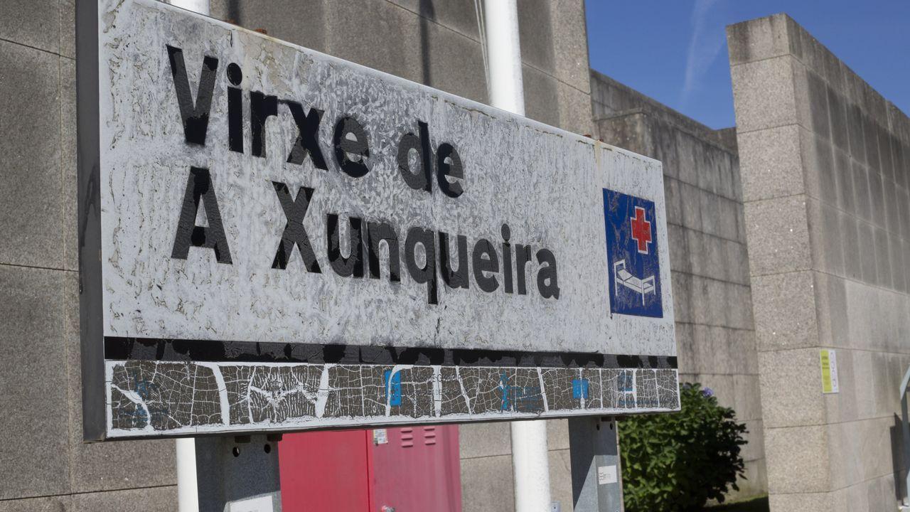Control en uno de los accesos a Ourense esta misma tarde