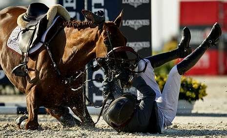 Las imágenes de la última prueba del torneo.Leopold Van Asten, celebrando el triunfo de ayer.
