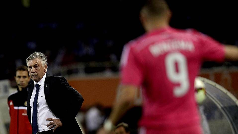 Ancelotti confirma que Ronaldo está para jugar