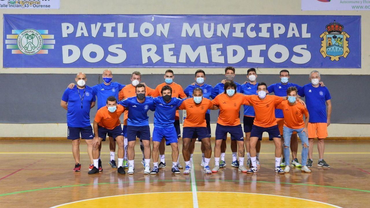 El Sala Ourense comenzó este martes la pretemporada