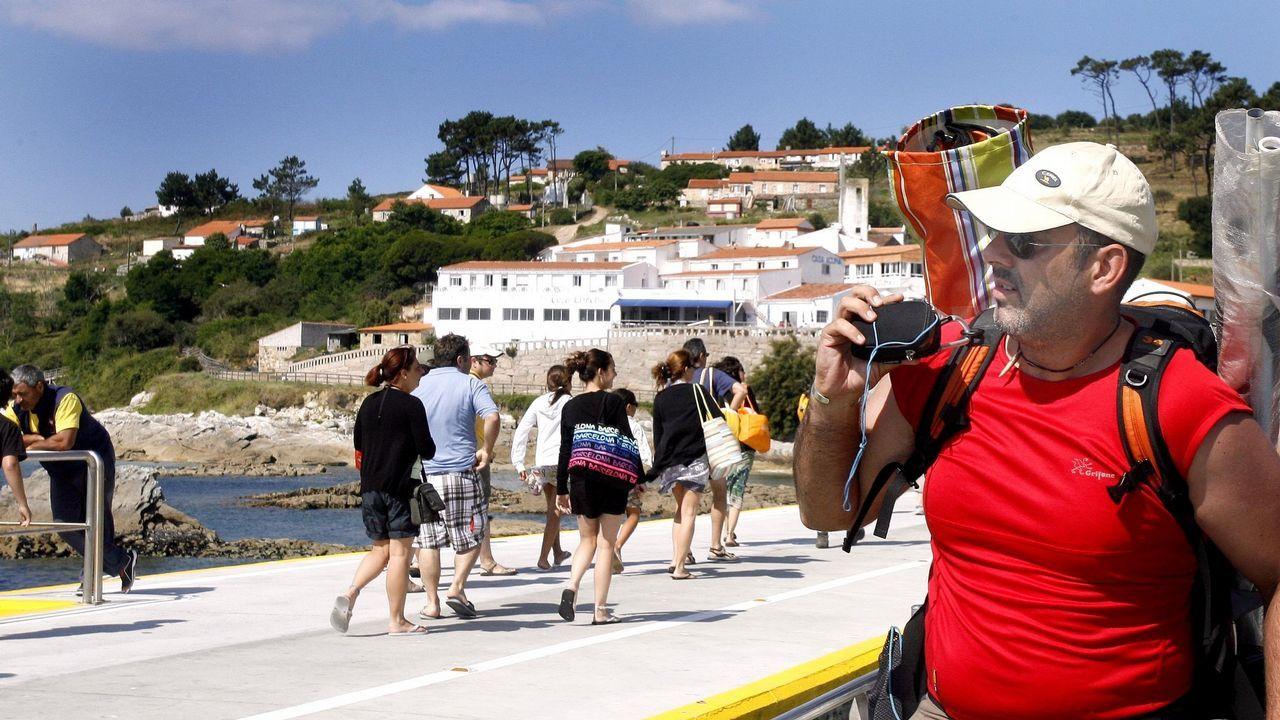 Pontevedra llena sus terrazas con la máxima temperatura de Galicia