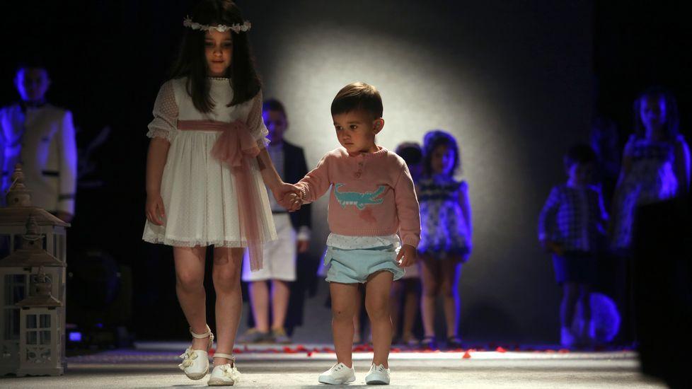 Desfile Semana de la Moda en Ribeira