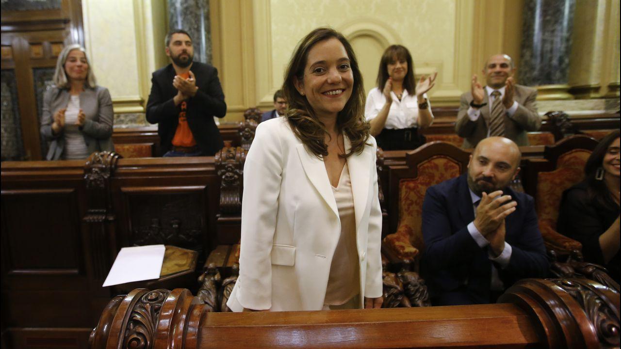 Inés Rey. Alcaldesa. Asumirá Barrios, Seguridade y Normalización Lingüística