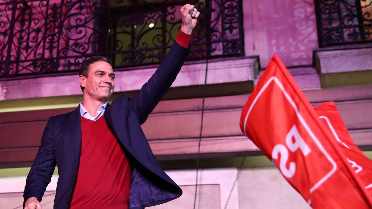 Celebraciones y caras largas tras los resultados del 10N.Pablo Ibar, durante la sesión en el que el jurado emitió su veredicto unánime de culpabilidad