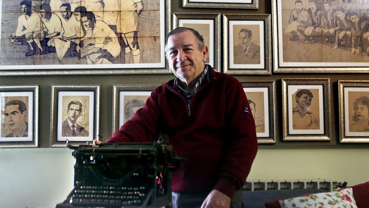 Retratos con una máquina de escribir.Límites de contaminación en España