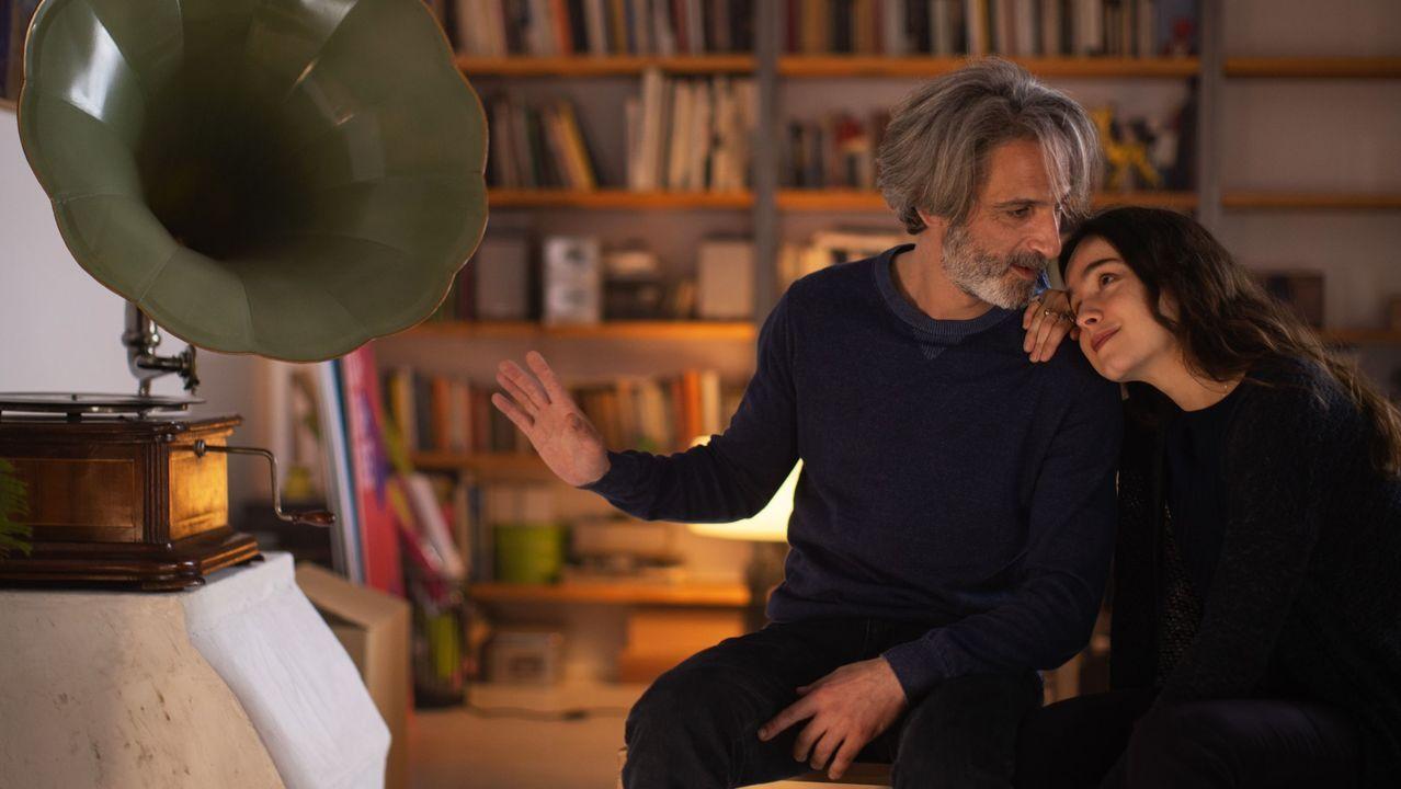 Ernesto Alterio y Gala Amyach, padre e hija en el filme de Achero Mañas «Un mundo normal»
