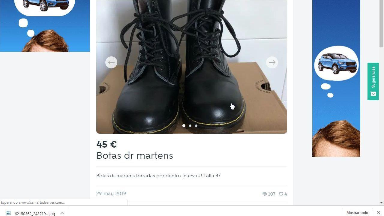 Estas botas son de los más vendido por envío.
