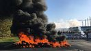 Protesta en Alcoa en Avilés