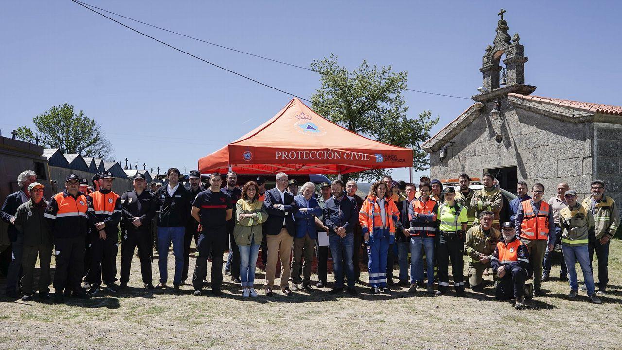 apostas.Más de 400 voluntarios se reunieron en esta jornada en Allariz.