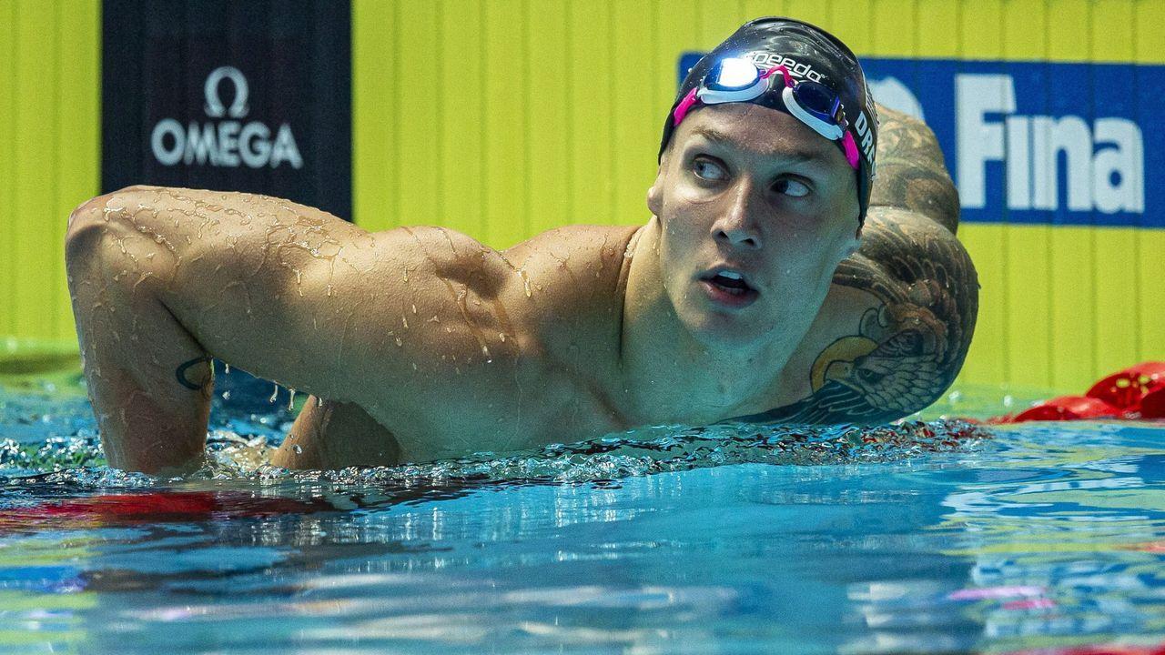 Nueve medallas en el último Mundial de Gwangju (Corea del Sur) y sus continuos prodigios le sitúan como heredero del trono de Phelps. En Río solo se colgó un oro en un relevo. En la cita de Japón tendrá 23 años.