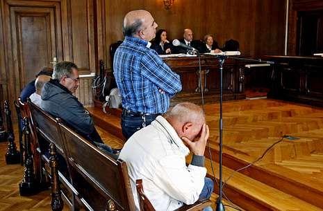 Solo uno de los cinco acusados que declararon en junio del 2013 en la Audiencia fue absuelto.