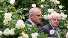 Boris Johson y el primer ministro australiano, Scott Morrison.