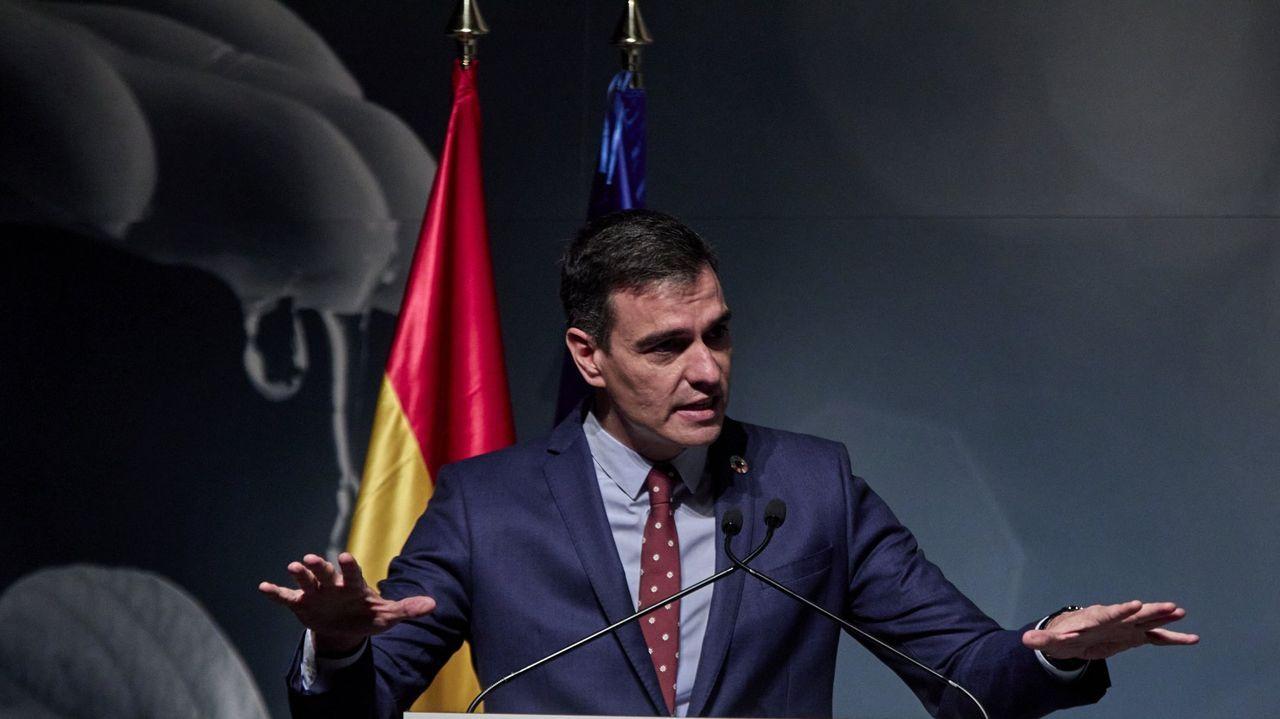 Díaz Ayuso y el alcalde de Madrid y portavoz del PP, Martínez Almeida
