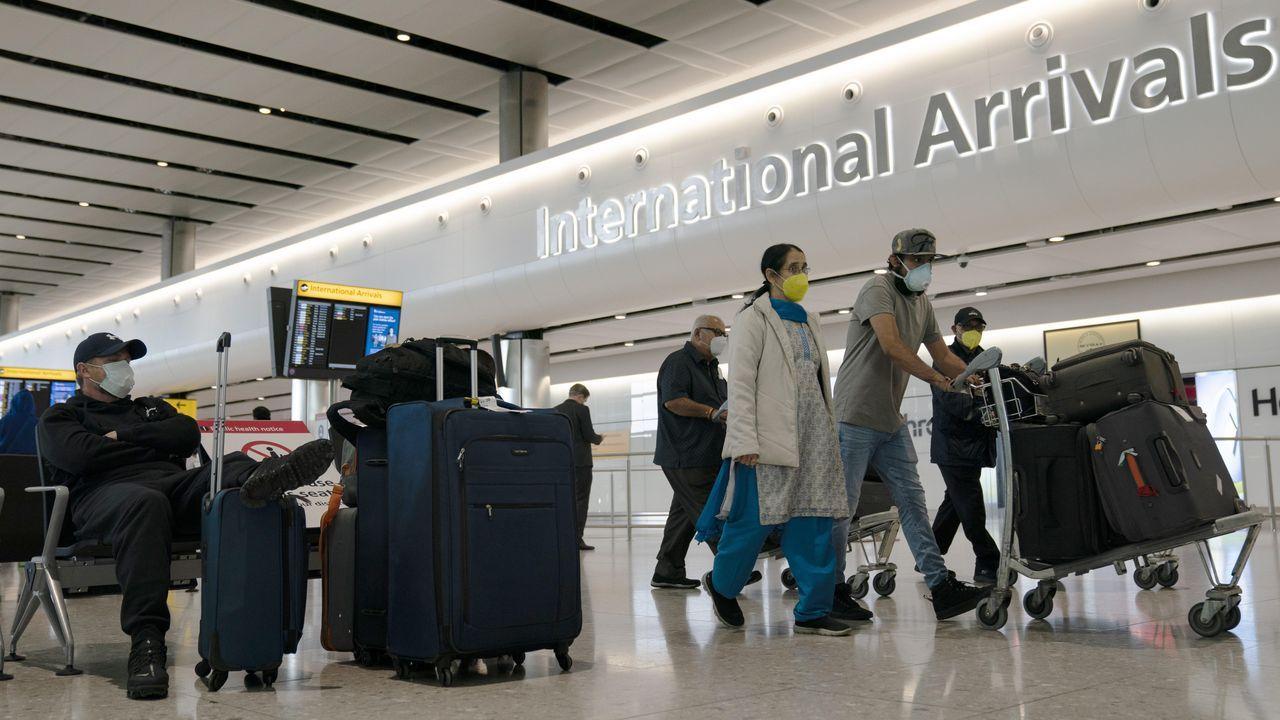 Un avión de Ryanair en el aeropuerto de Frankfurt
