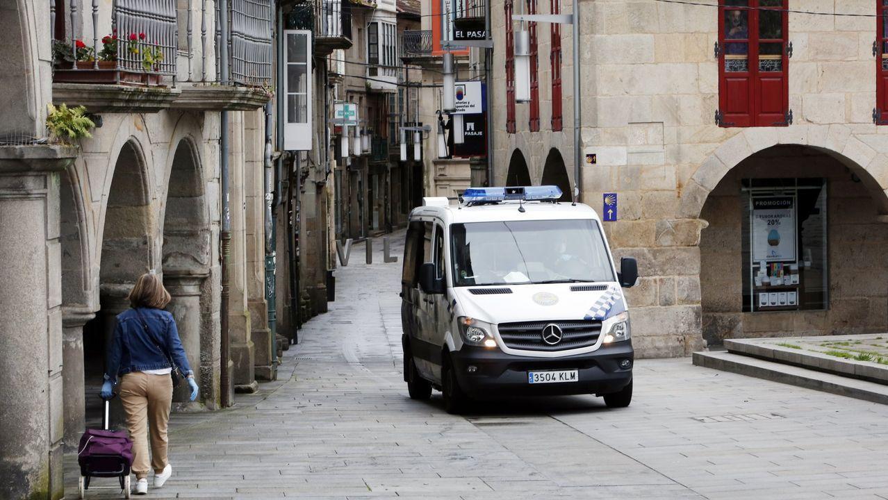 Comisaría de la Policía Nacional en Gijón.Una cerradura