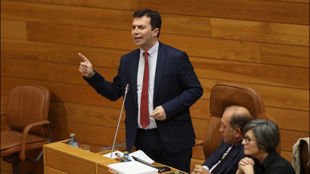 El debate sobre el Estado de la Autonomía, en imágenes.Pleno del Parlamento de Galicia