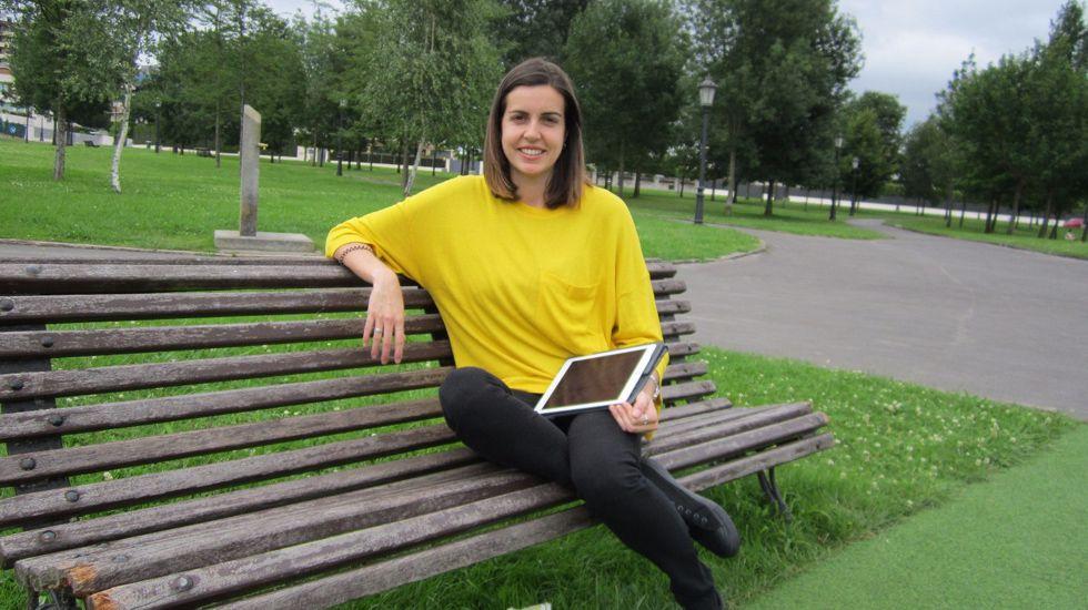 Catuxa Fernández.Catuxa Fernández, emprendedora asturiana con ClickSports, una plataforma de análisis de datos