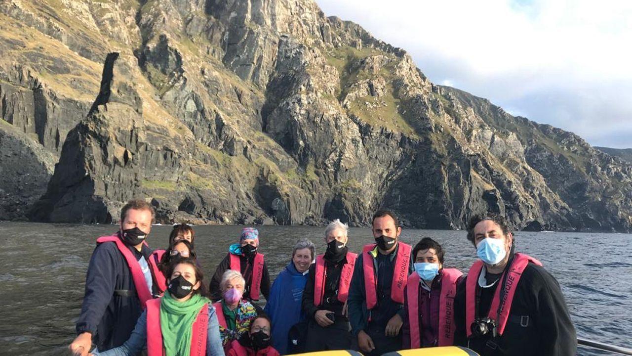Los refugios para las aves migratorias en las Rías Baixas.Georruta marítima por la costa de Cedeira, guiada por Francisco Canosa