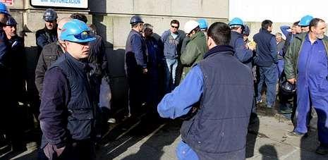 Los trabajadores de Eymosa fueron algunos de los afectados por ajustes extintivos en empresas de la comarca.