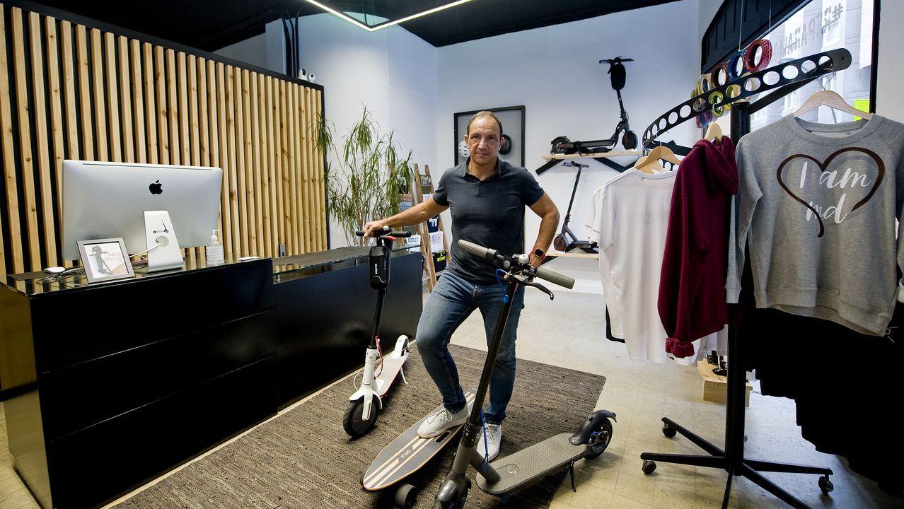 La tienda está especializada en movilidad sostenible