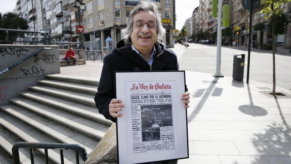 Foi a manifestación mais grande da historia de Galicia