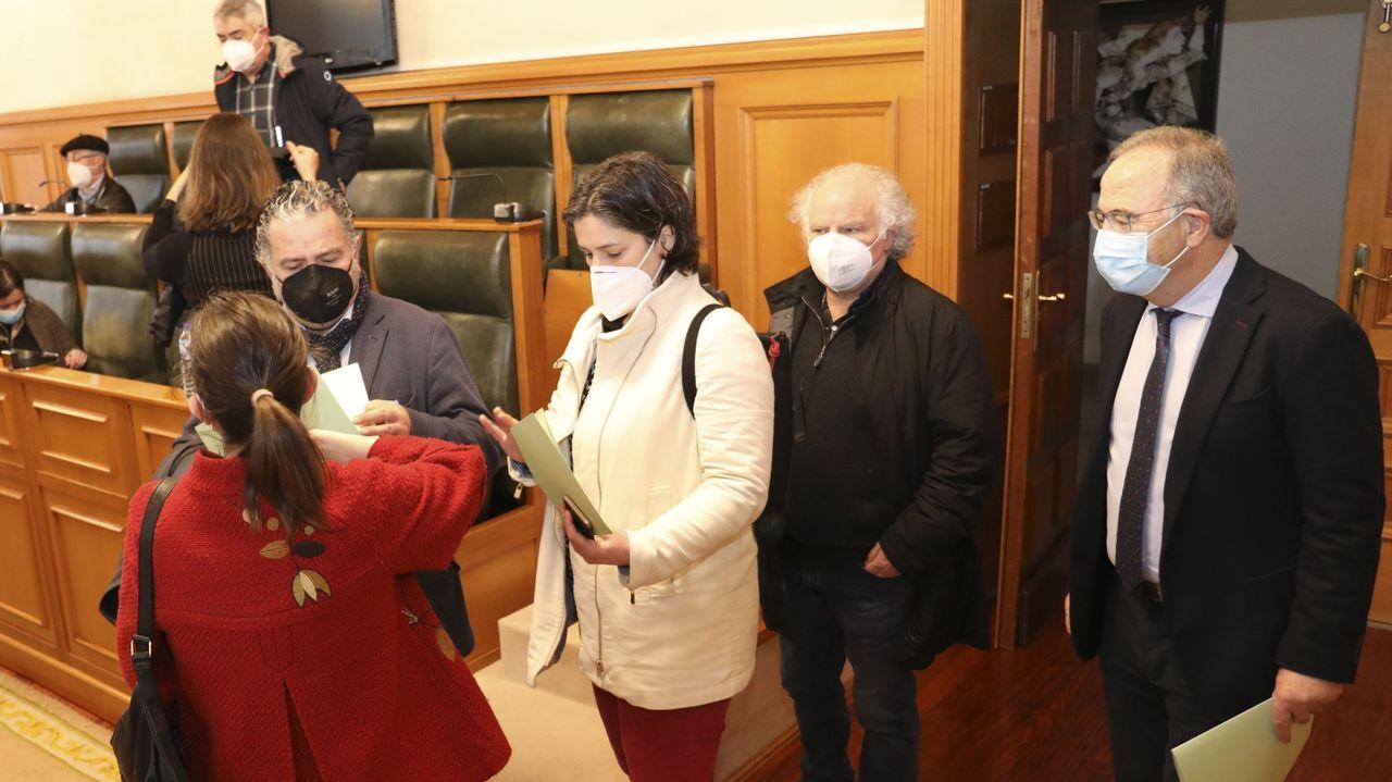 Foro de la Mujer, en Sanxenxo.El diputado nacionalista carballés Daniel Pérez