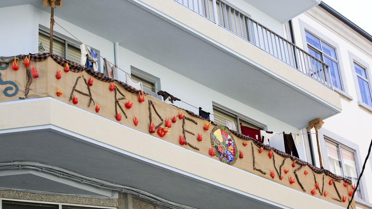 O balcón que recibiu o terceiro premio do certame