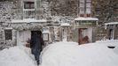 La nieve está presente estos días en la montaña de Lugo