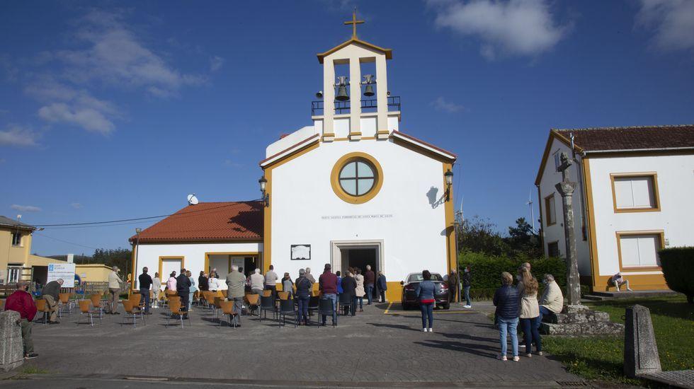 Cincuenta años de la consagración de la nueva iglesia de Castromil: ¡las imágenes!.Magín Blanco, en una imagen de archivo, anterior a la pandemia