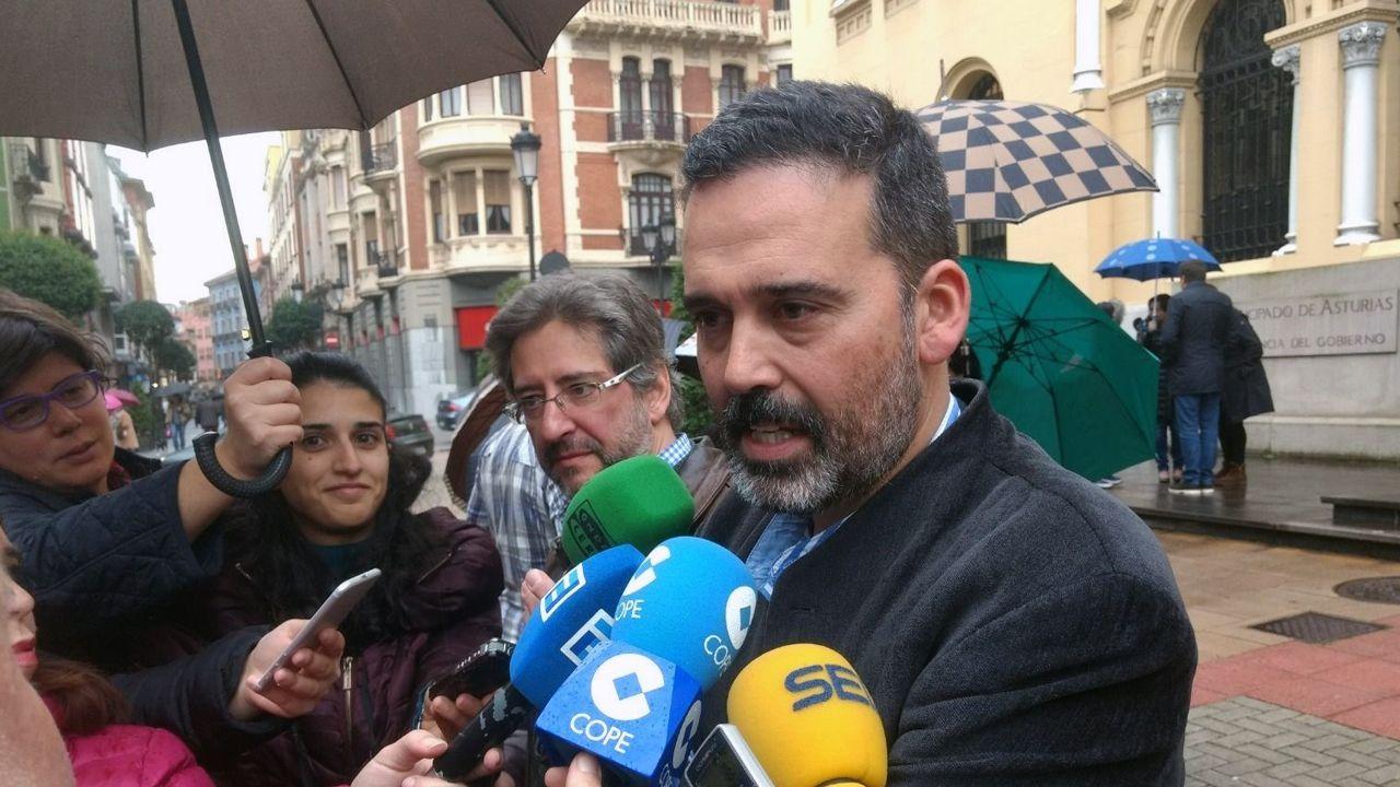 El concejal de Seguridad Ciudadana del Ayuntamiento de Oviedo, Ricardo Fernández.