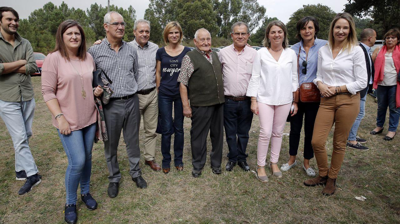 Comida de militantes del Partido Popular de Moraña