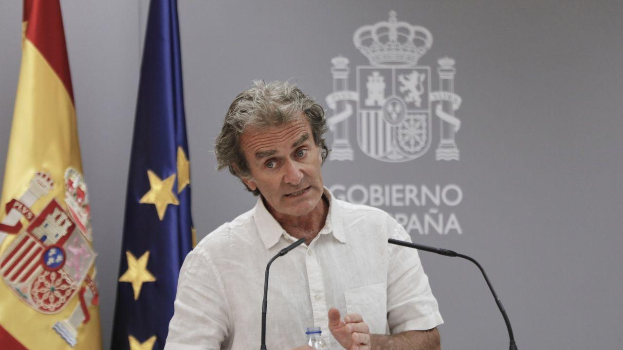 Imagen ofrecida por Moncloa en la que Pedro Sánchez preside el supuesto Comité Técnico para la Desescalada