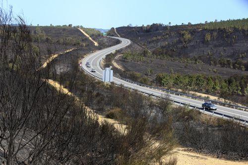 El tramo en el que se desarrollan las obras, en una imagen de archivo