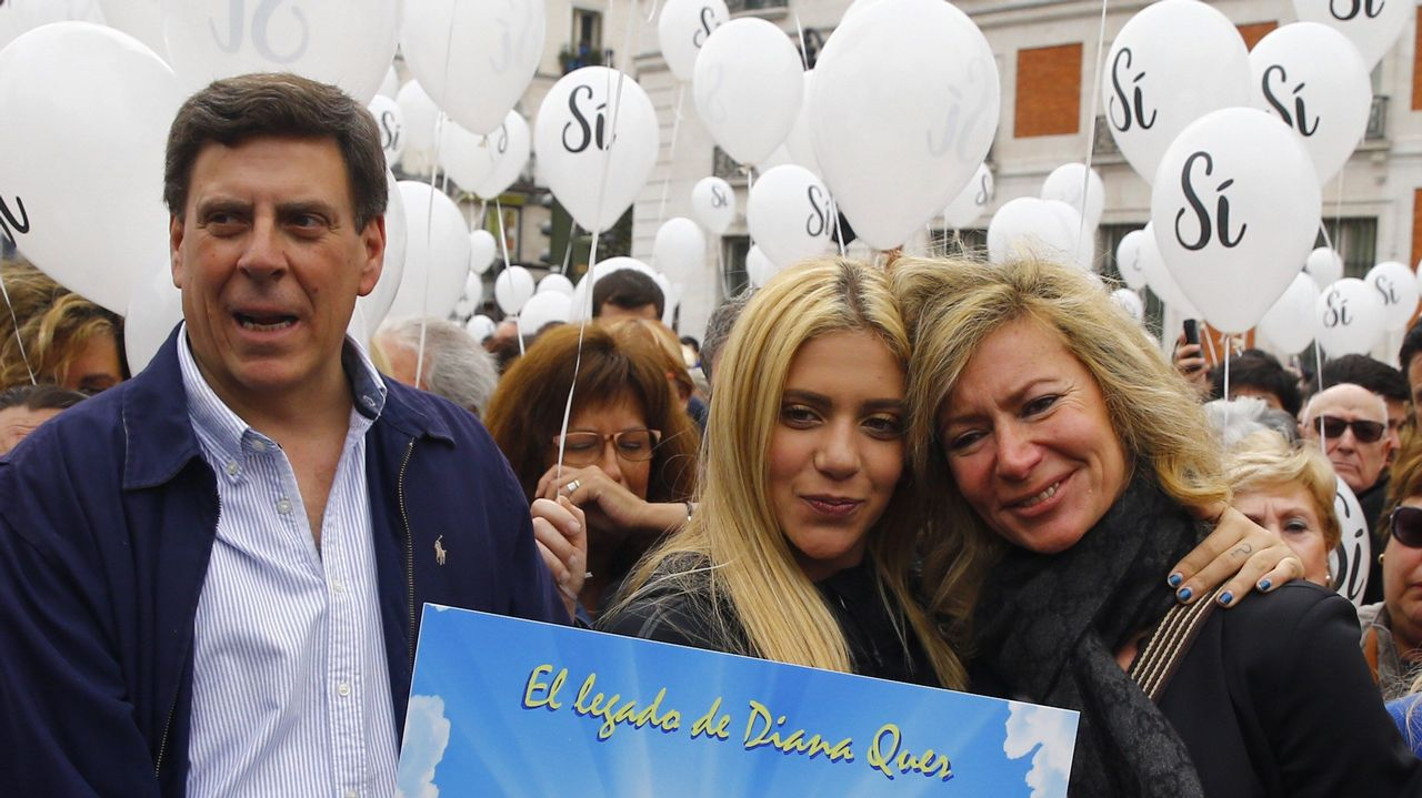 La familia de Diana Quer: «ahora nos toca hablar a los ciudadanos»