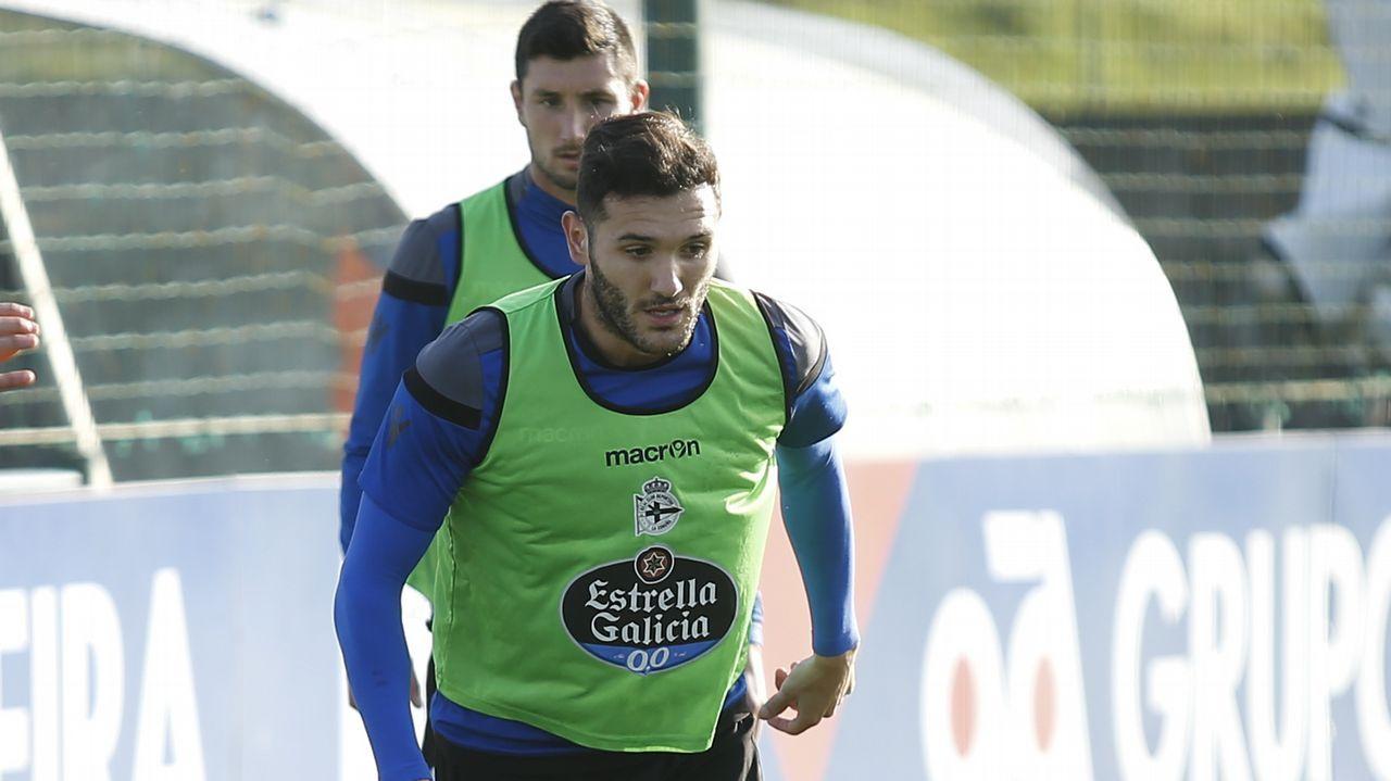 El Dépor - Las Palmas, en imágenes.Seedorf, técnico holandés del Deportivo