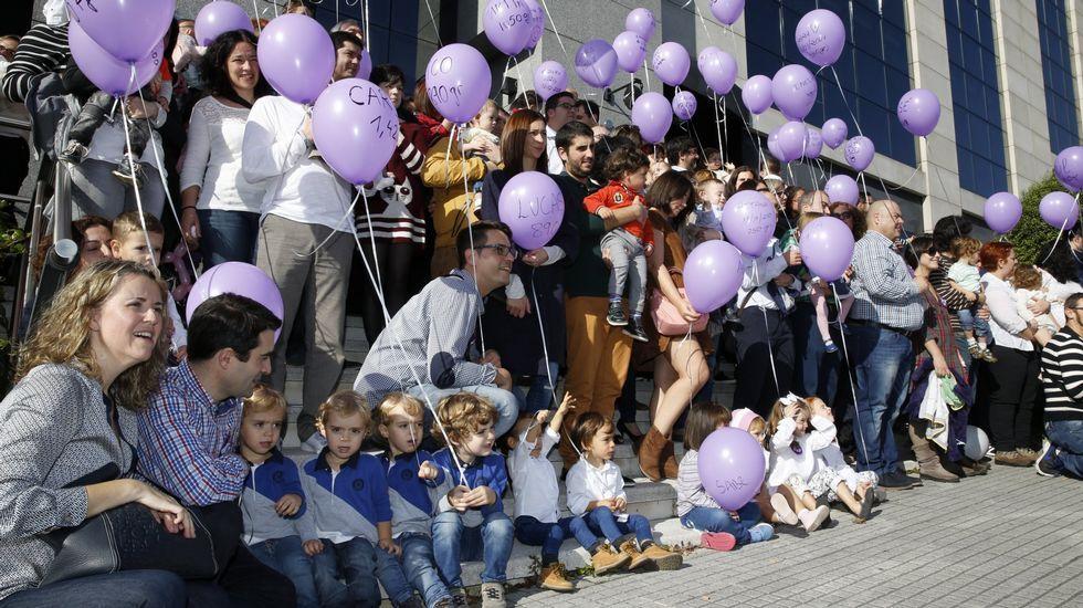 Defensora del Pueblo y Xunta piden que se revisen ya las visitas de padres.Celebración del día del prematuro en A Coruña